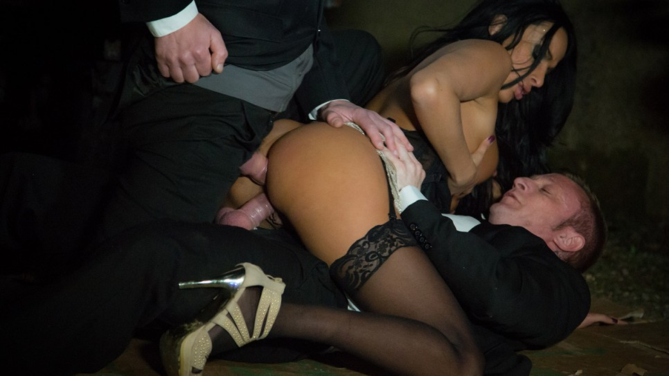 Anissa Kate fucked by two men