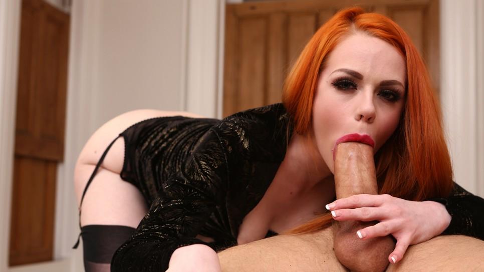 Ella, the horny redhead girl